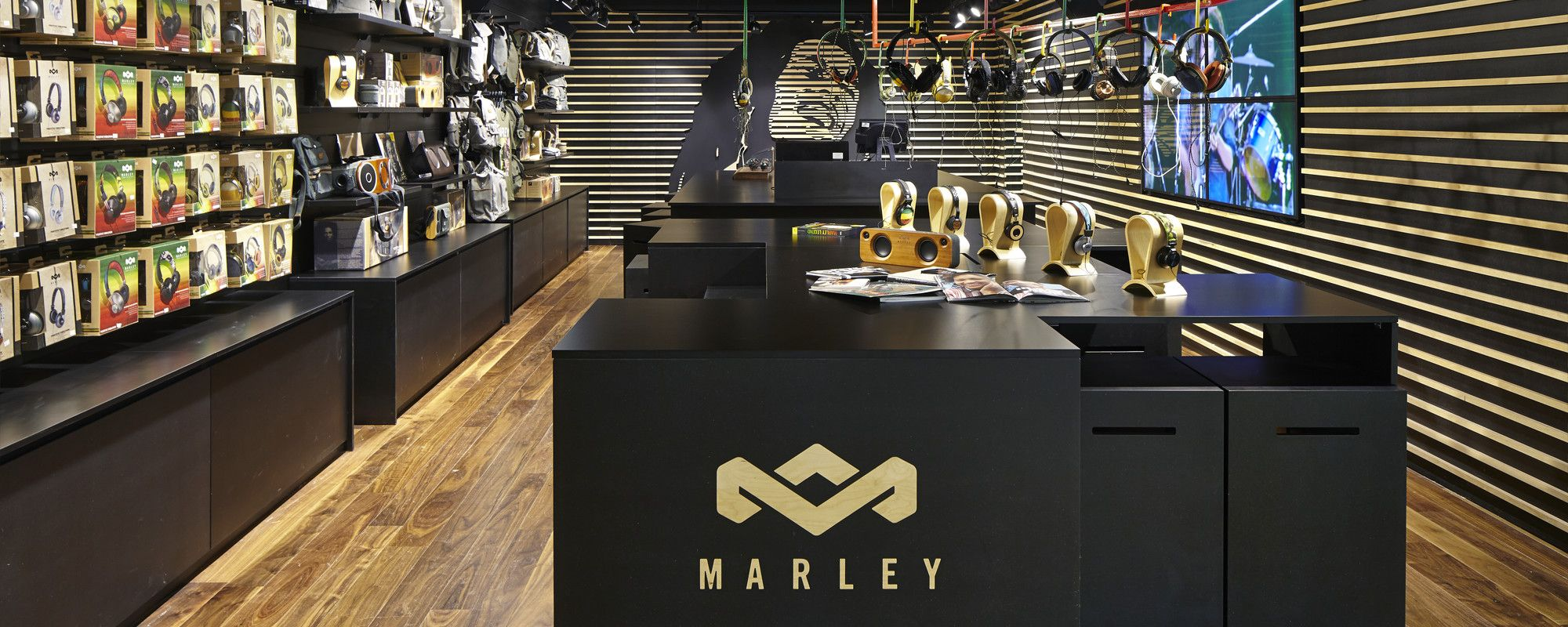 House of marley concept store